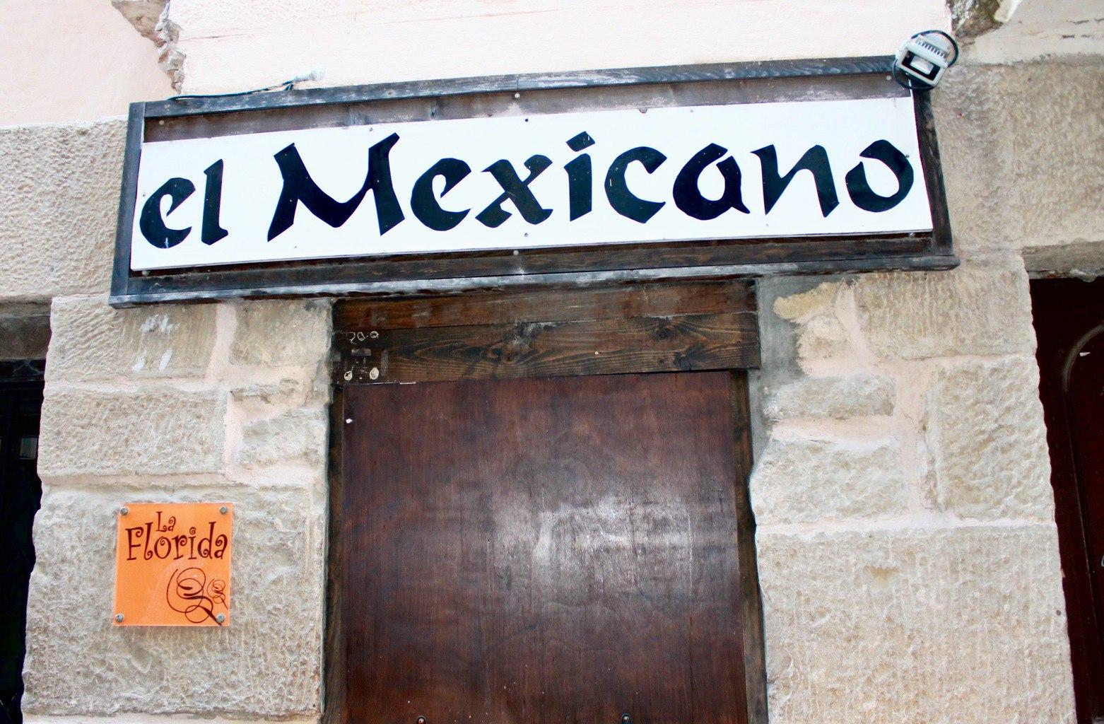 El Mexicano Tapas in Logrono