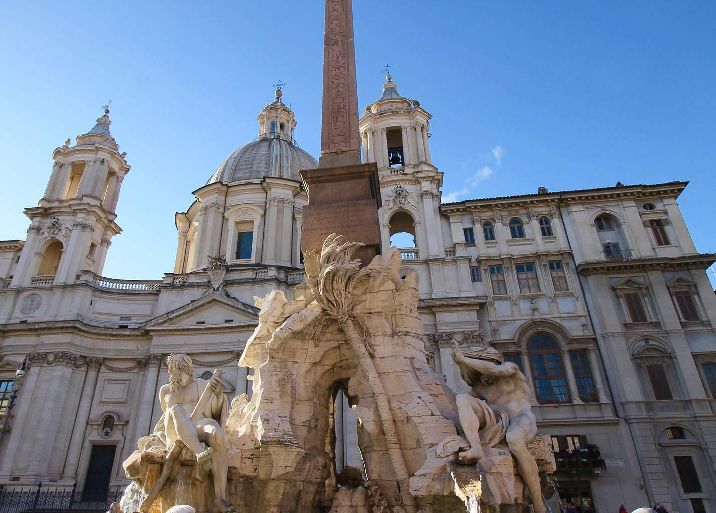 Piazza Navona - Four Rivers Fountain