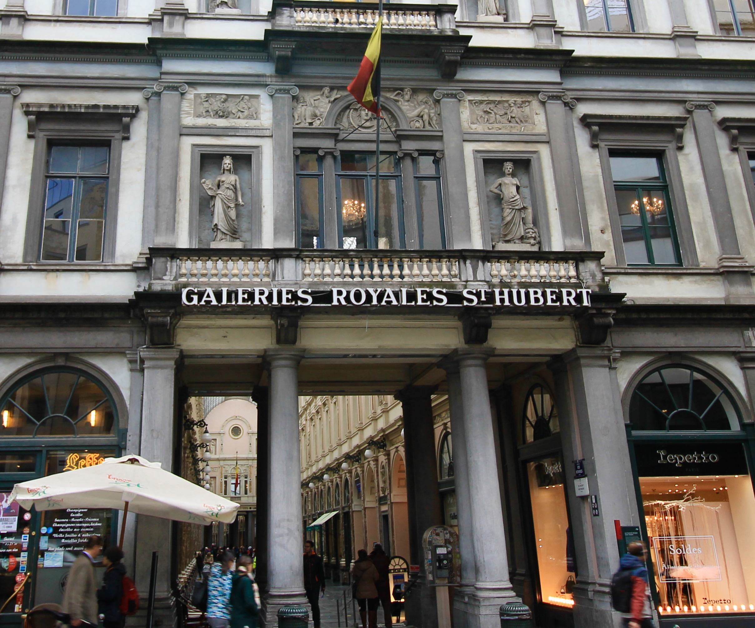 Galeries Royales Saint-Hubert Eat and Drink Brussels