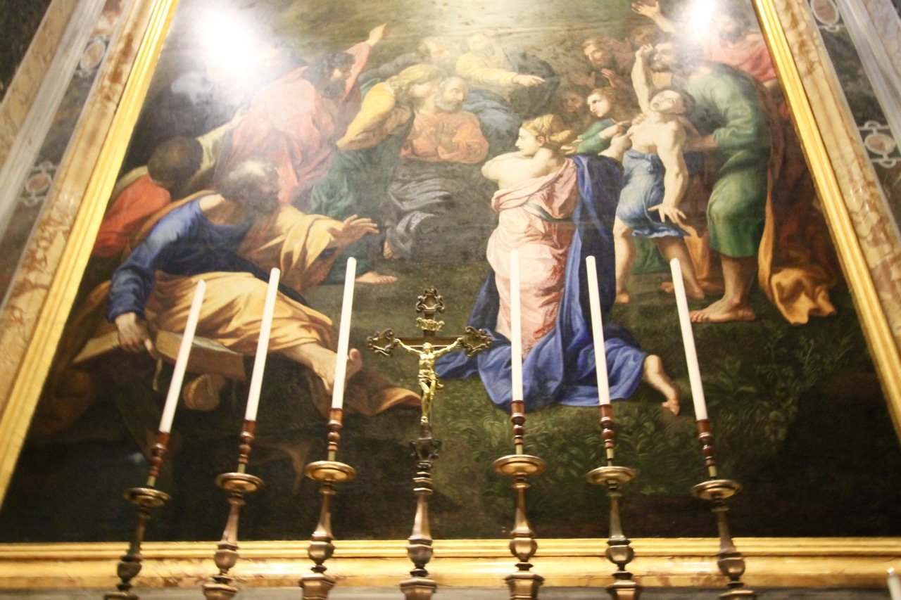 St. Peter's Basilica Paintings
