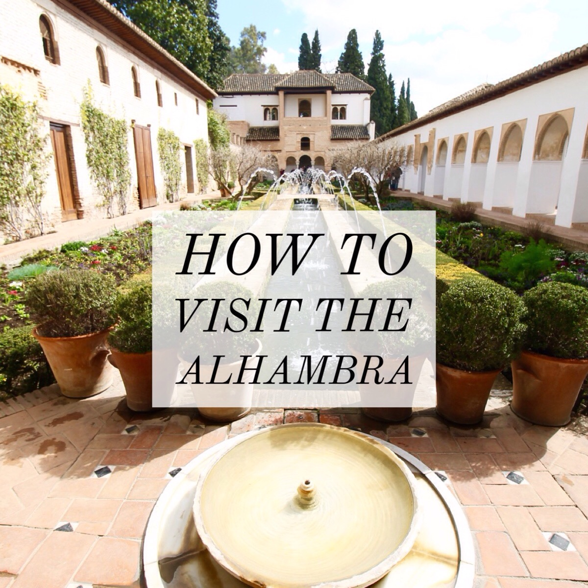 How to Visit the Alhambra Pin