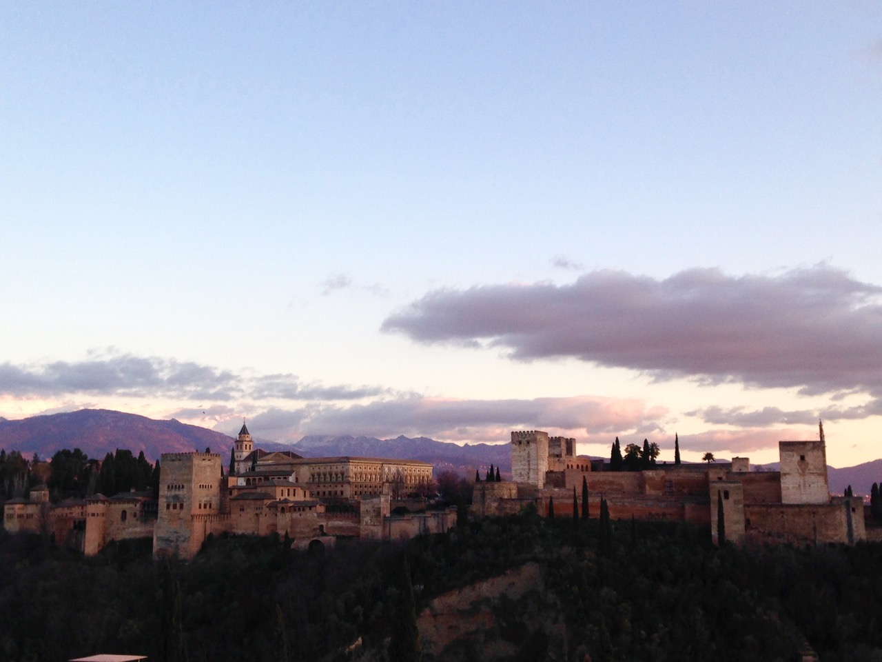 Visit the Alhambra at Dusk