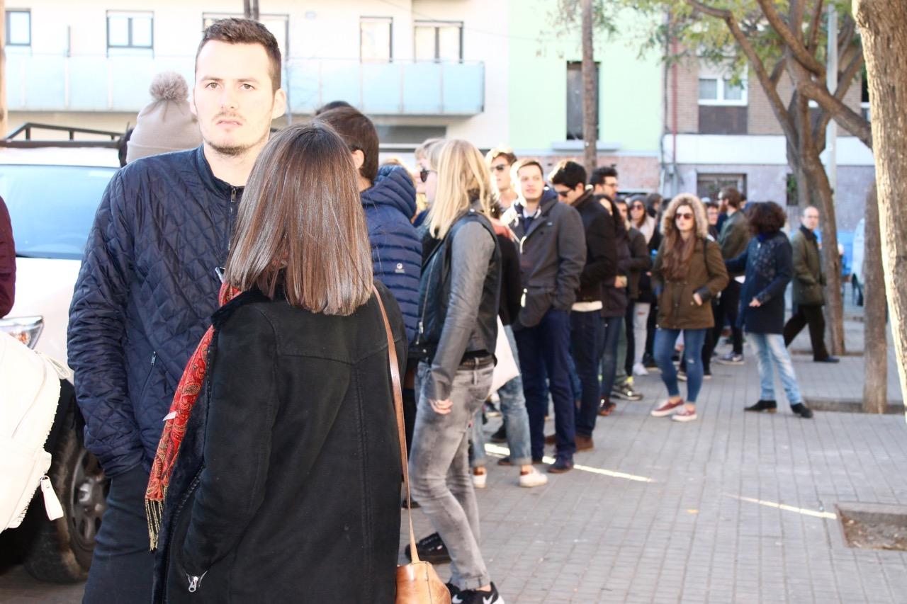 Barcelona Eat Street Long Line