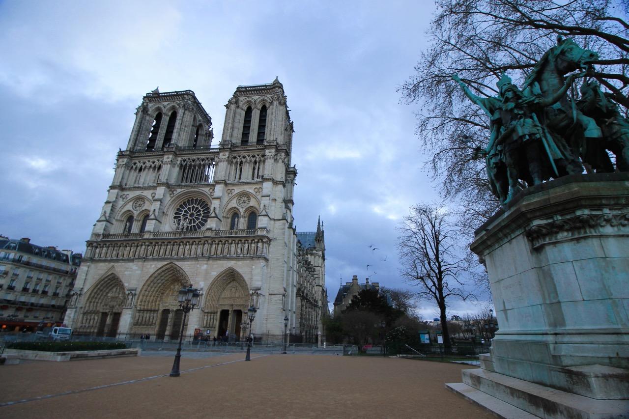 Notre Dame Easter in Paris
