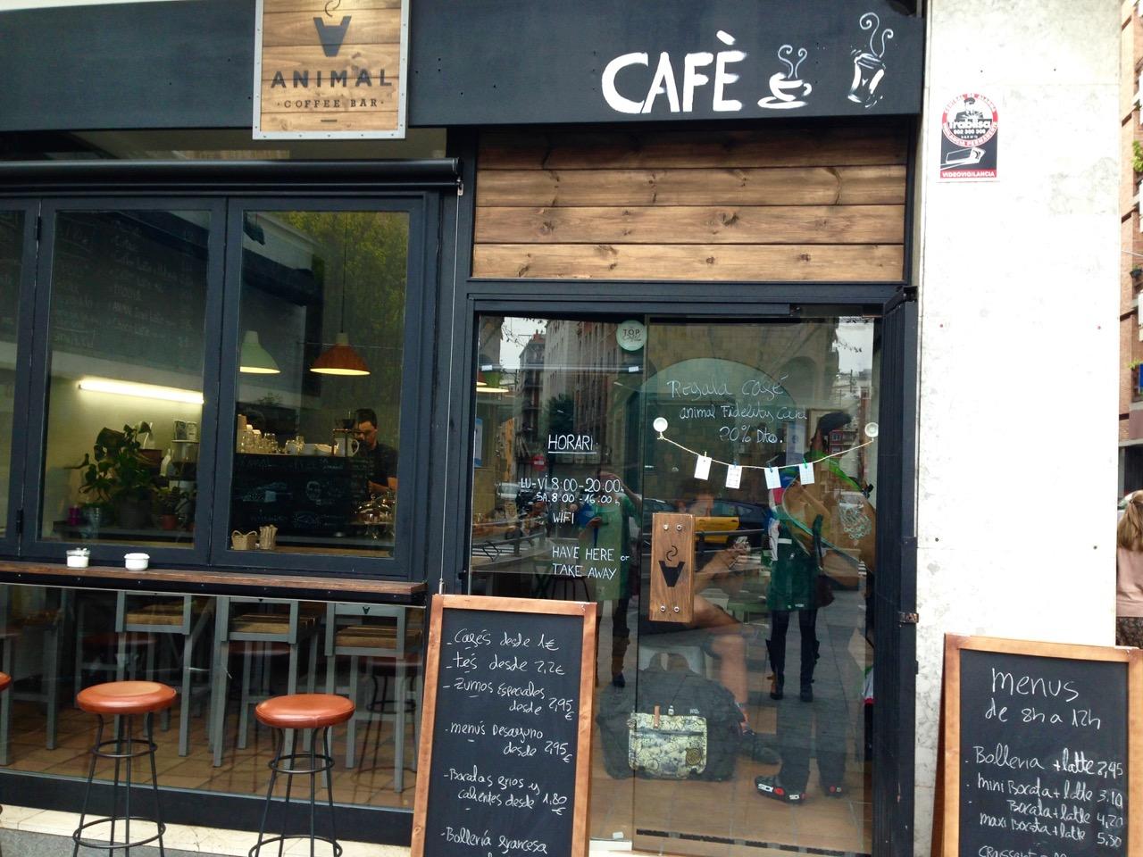 Animal Coffee Barcelona Coffee Gracia