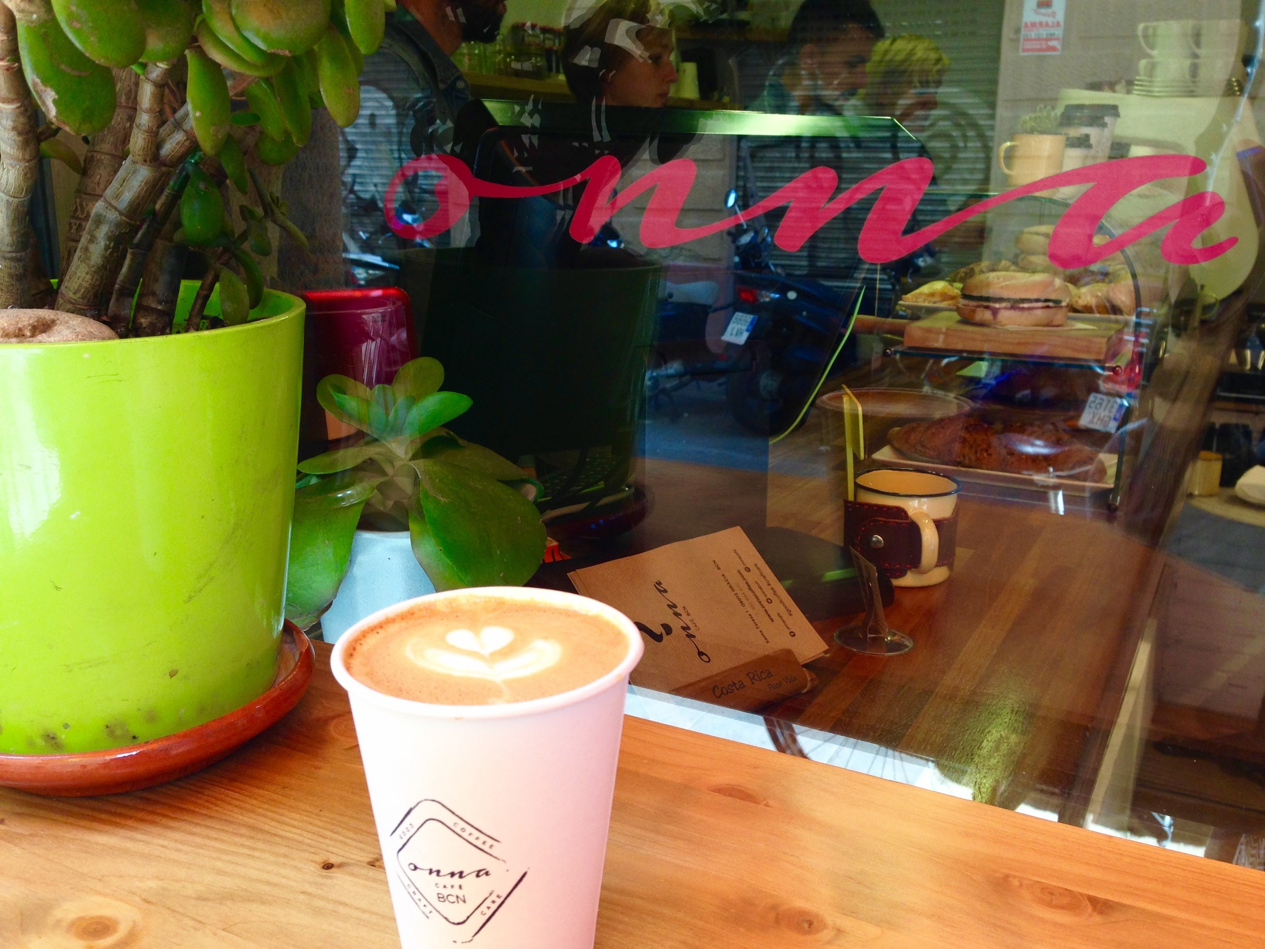 Onna Coffee Barcelona Coffee Shop Gracia