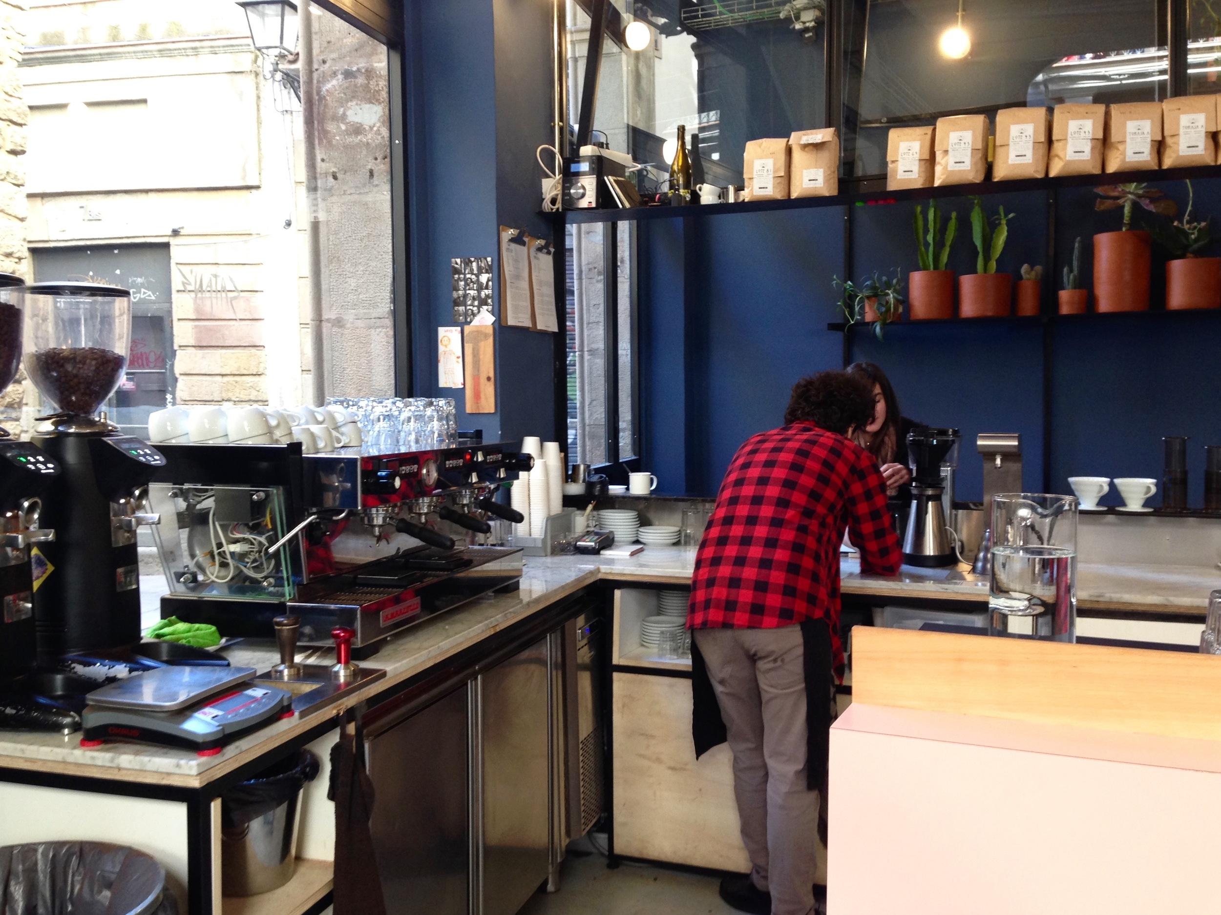 Satan's Coffee Barcelona Coffee Shop Gracia