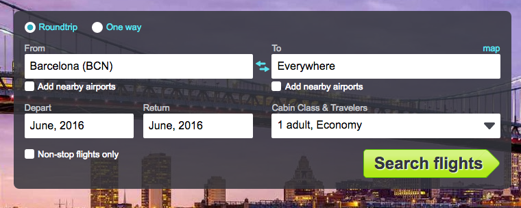 Skyscanner - save money while traveling