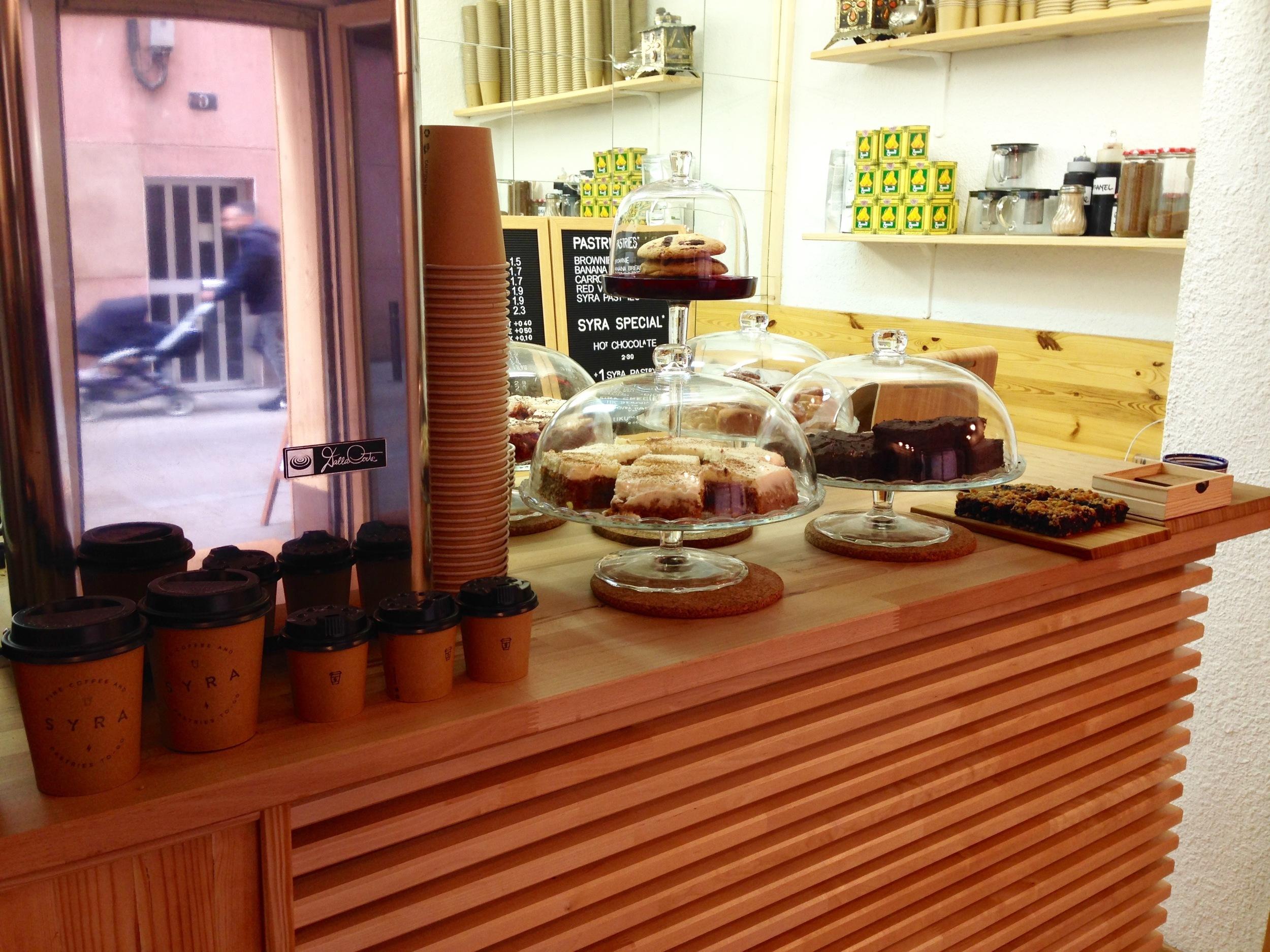 Syra Coffee Barcelona Coffee Shop Gracia