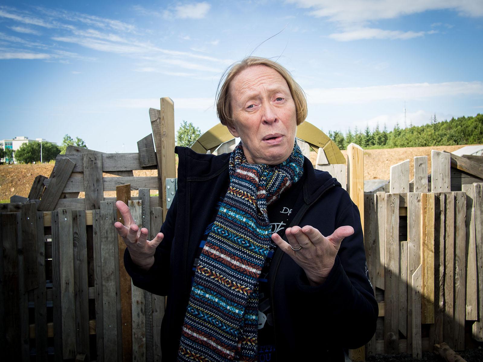 Margrét Pála, founder and CEO of Hjalli schools in Reykjavík