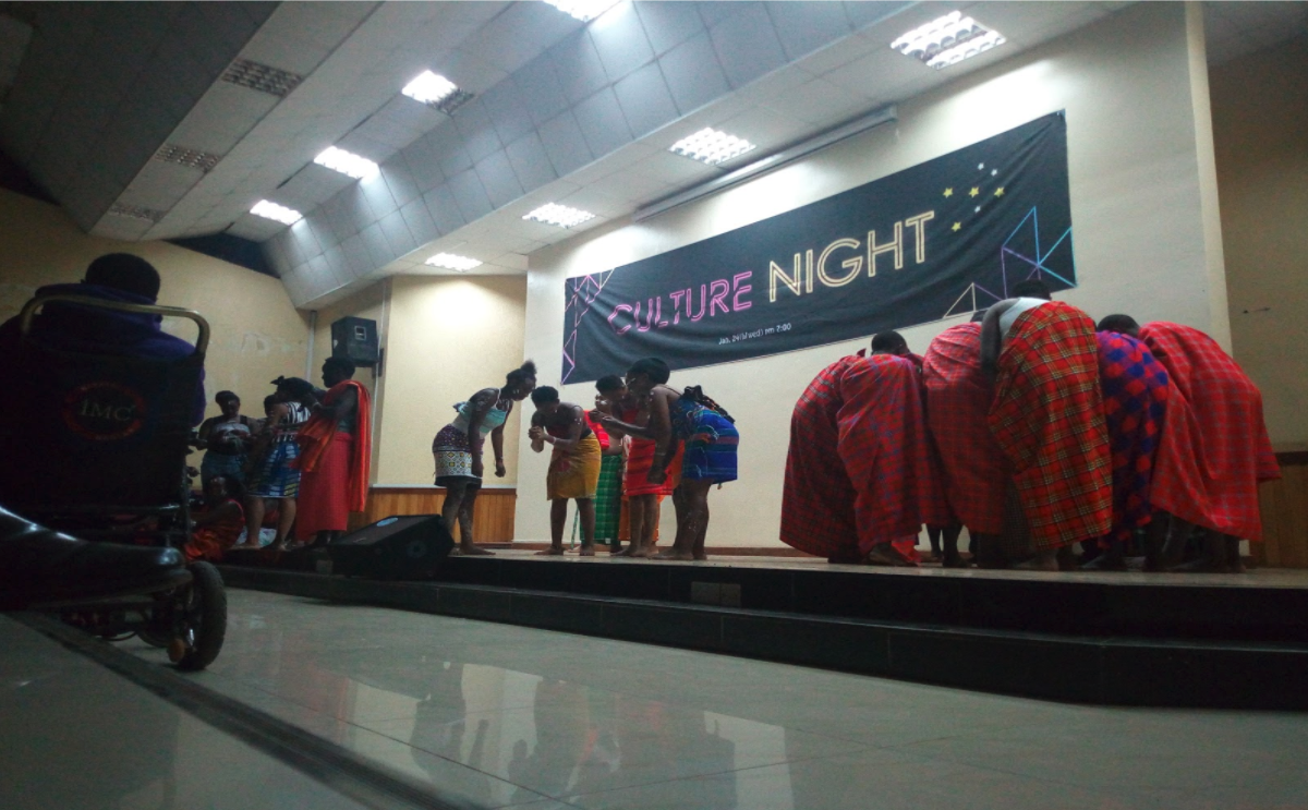 One of the brilliant performances from the culture night by St.Paul's University Students.