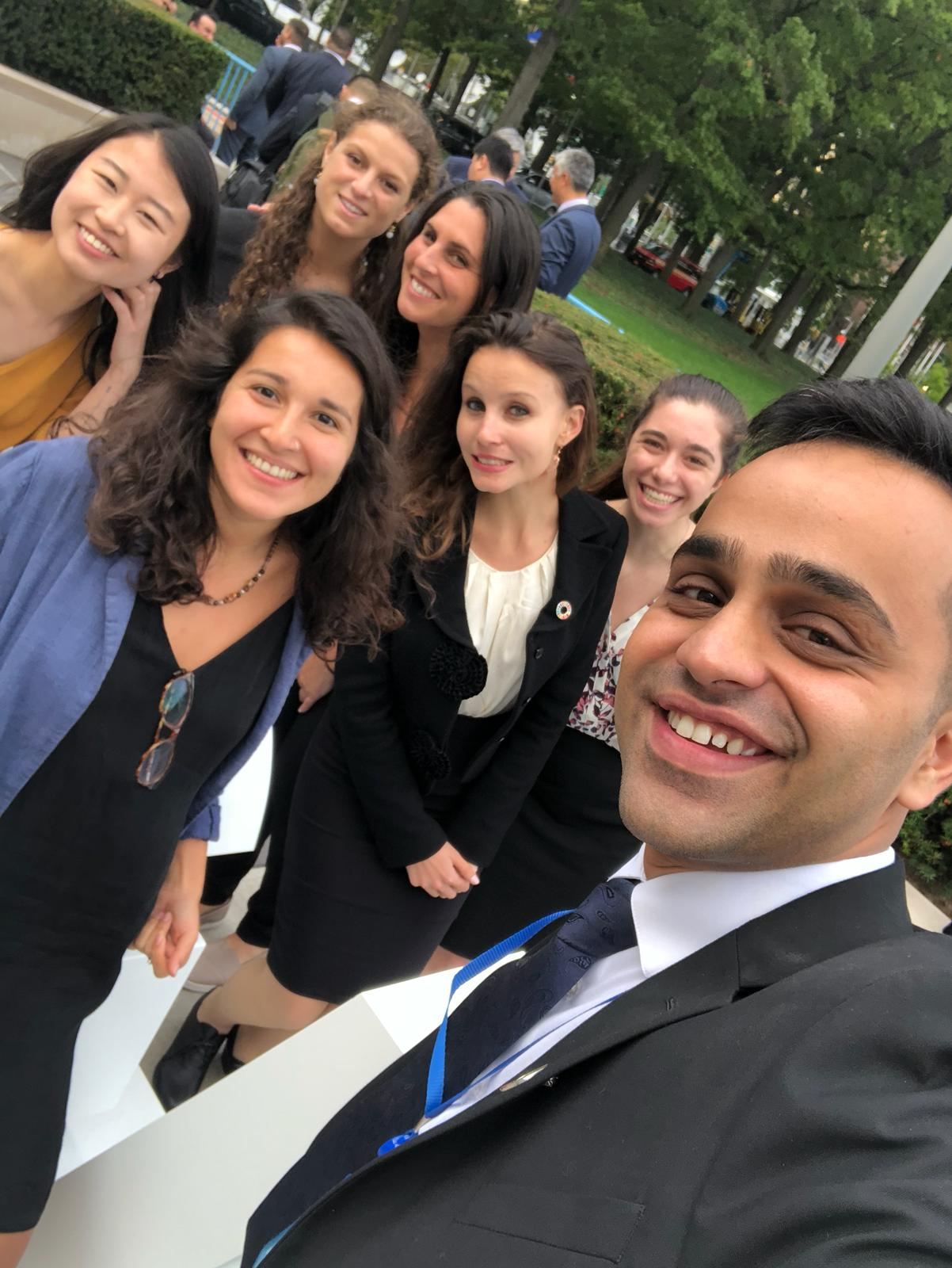 All smiles at UNGA73!