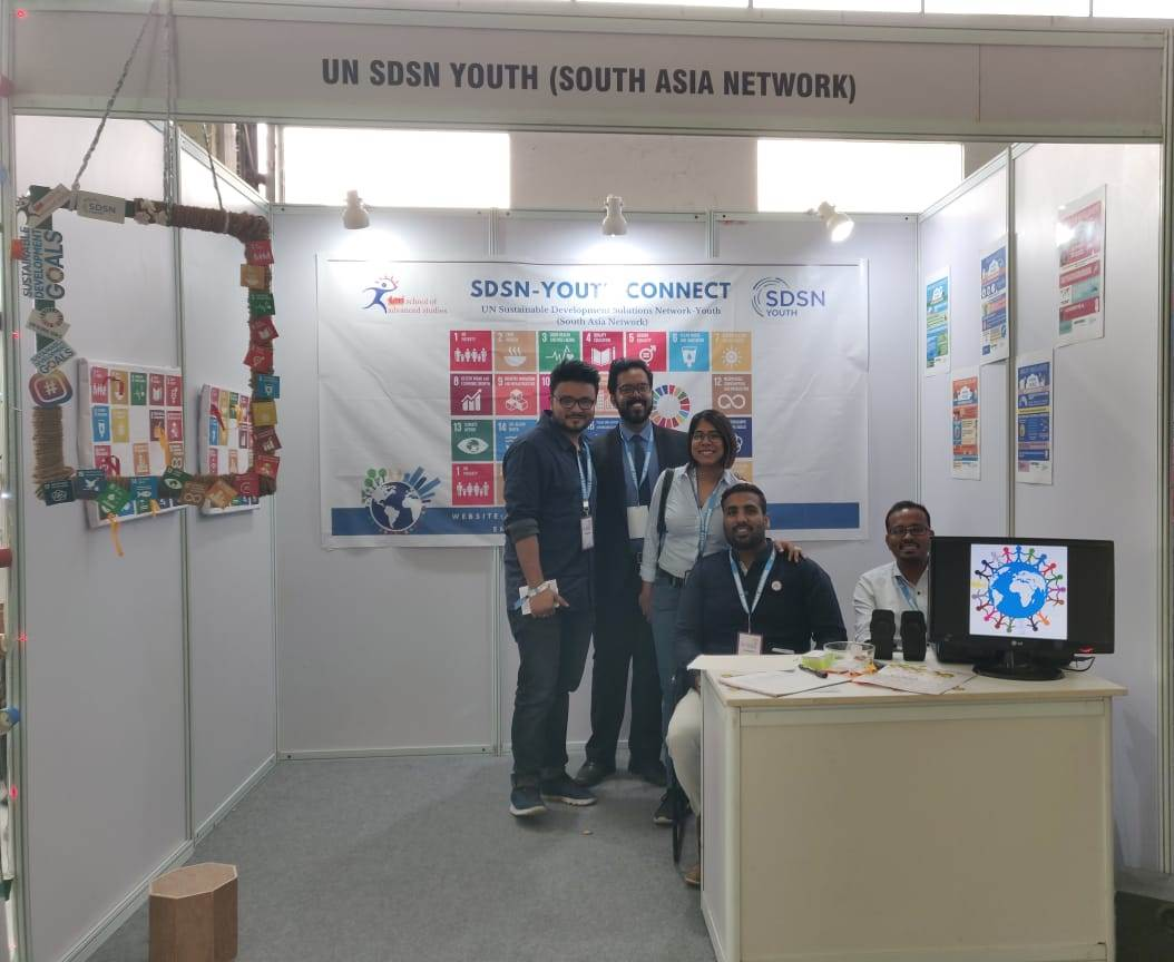 SDSN Youth South Asia Stall at Climate Jamboree
