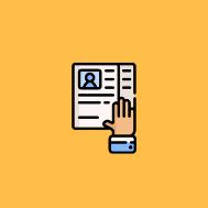 Copy of Written application + CV