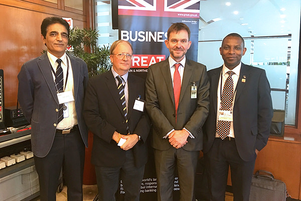 Derrick Sanyahumbi in Manila this week leading a successful British Expertise mission to the Asian Development Bank – a full report next week.