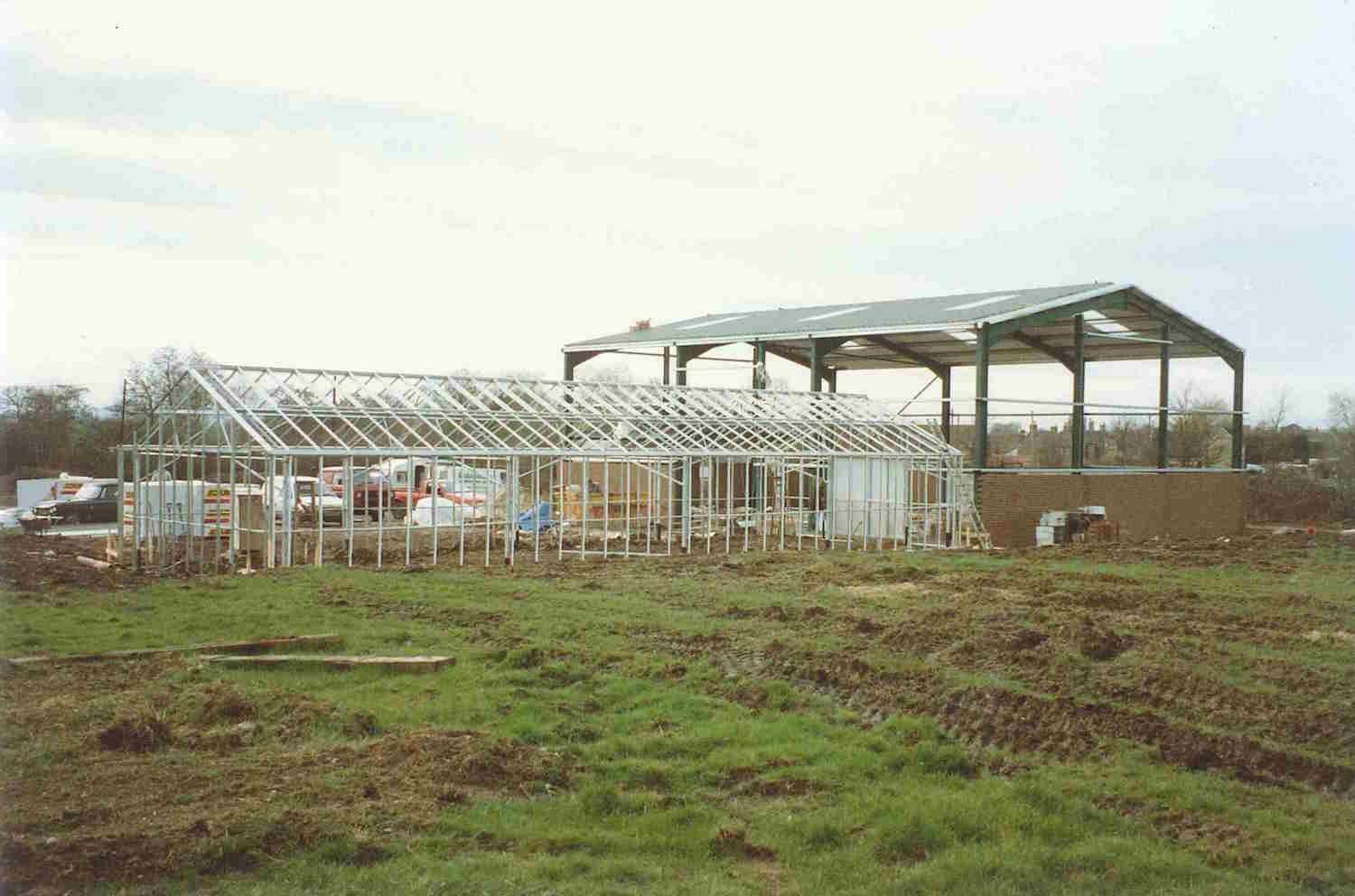 Our 'new' home being constructed in 1991.jpg