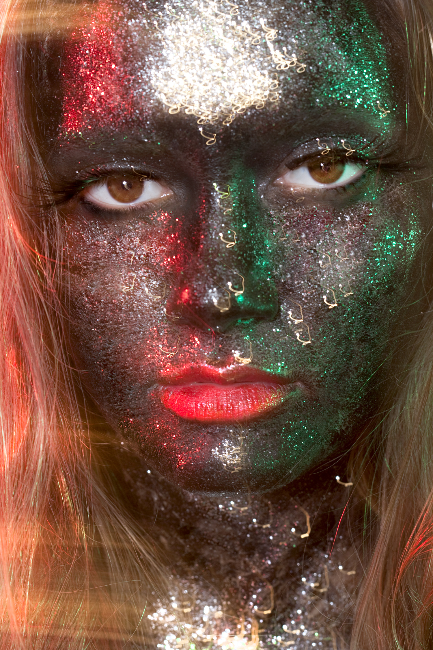 Rachael Sture Photography personal work electric beauty fashion glitter