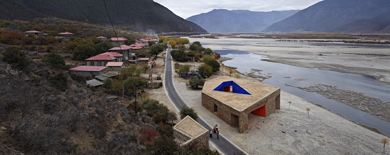 尼洋河游客中心, 西藏 Niyang River Visitor Center, Tibet  -READ MORE-