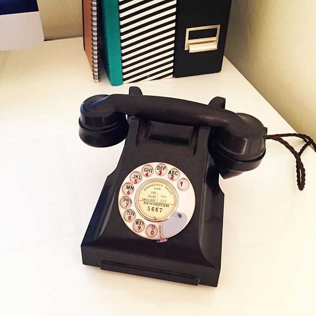 We've introduced the perfect #vintage #officeaccessory today. #vintagephone #vintagestyle #officephone #officestyle #oldschool #retro #vintagedesign #oldohone #officestyle #callnow #outdodesign #design #graphicdesigners #beautifulthings #creativity #designstudio #workplace #art #graphicdesign