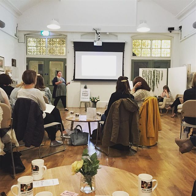 Another shot from today's #bigbusinessday @creativebusiness.workshops by @fabulousplaces . Some great speeches and creative industry insights by @letterboxlane and @harryandfrank #feelinginspired #derby #getcreating #dogoodstuff #creativebusinessowner #creativebusinesses #creativecompany #alwayslearning