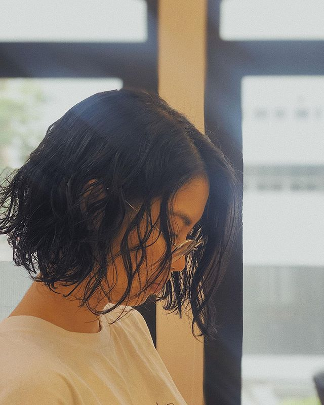 Rock a tousled perm and bob this warm summer for a refreshing update on your look 🌞 . . Hair by: Kaori . . Enjoy 20% off all hair services if you're a first-time customer! Call 6334 7898 to book your appointment today!