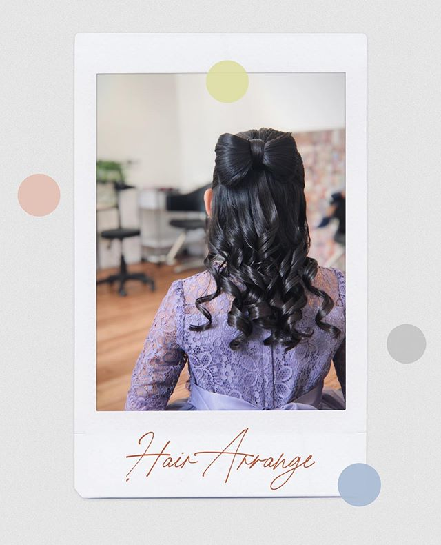 Get your hair all dolled up for your special event by Stylist Kaori 🤩 . . Hair by: Kaori . . Enjoy 20% off all hair services for the month of August if you are a first-time customer! Simply call us at 6334 7898 to make an appointment with us today! . .  #japanesesalon #japanesemua #japanesesalonsg #japanesehairstyle #hairarrange #devonshireselectedbeautysalons