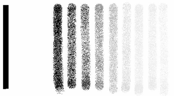 Gradation between black and white - sự chuyển tiếp giữa đen và trắng