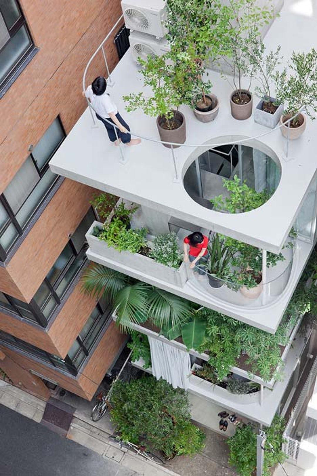 House and Garden by Ryue Nishizawa, Tokyo, Japan