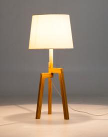TRIPOD TABLE LAMP £45