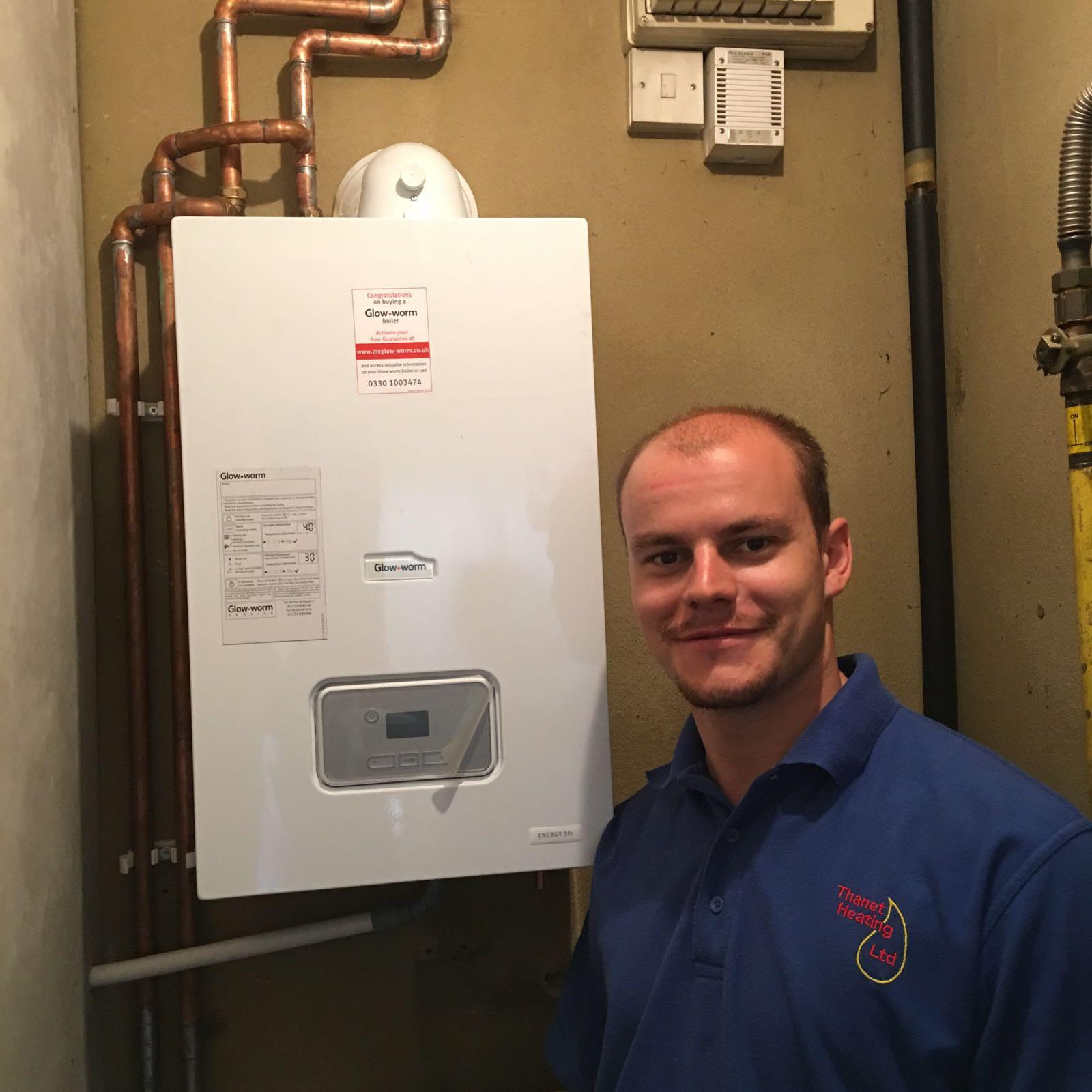 Glow-worm Boiler Install in Margate