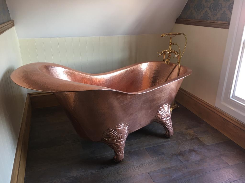 Freestanding Bath Installation