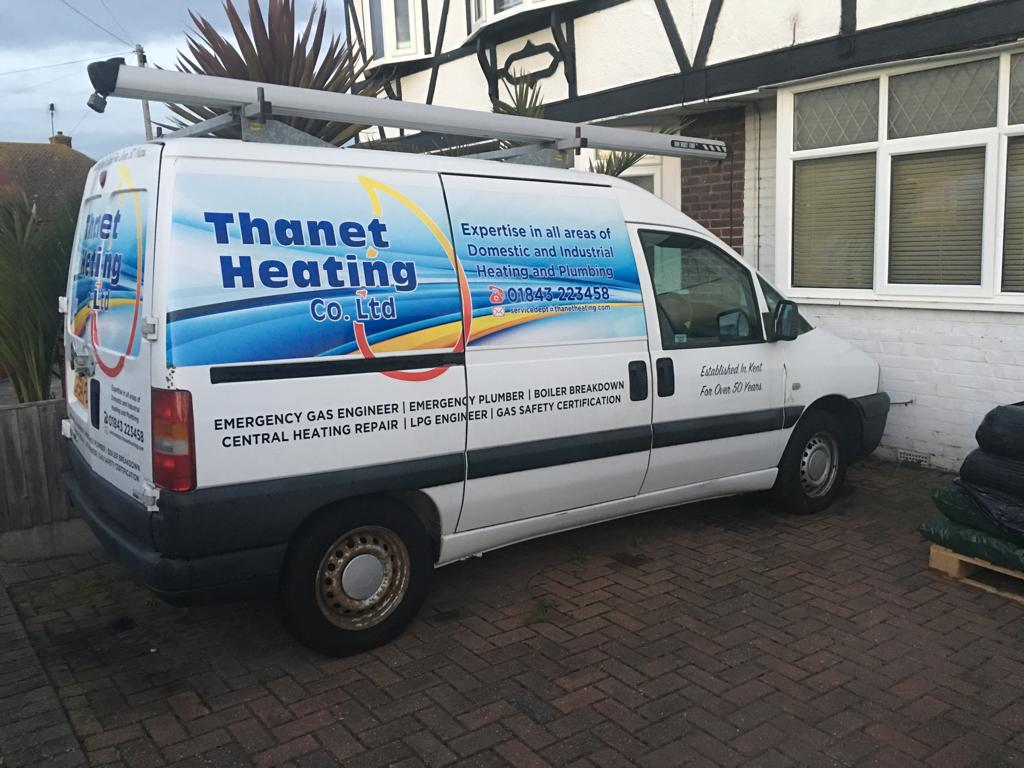 Thanet Heating Small Works Van