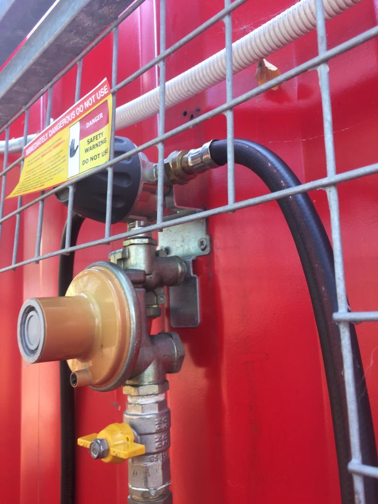 LPG Change over valve 22mm