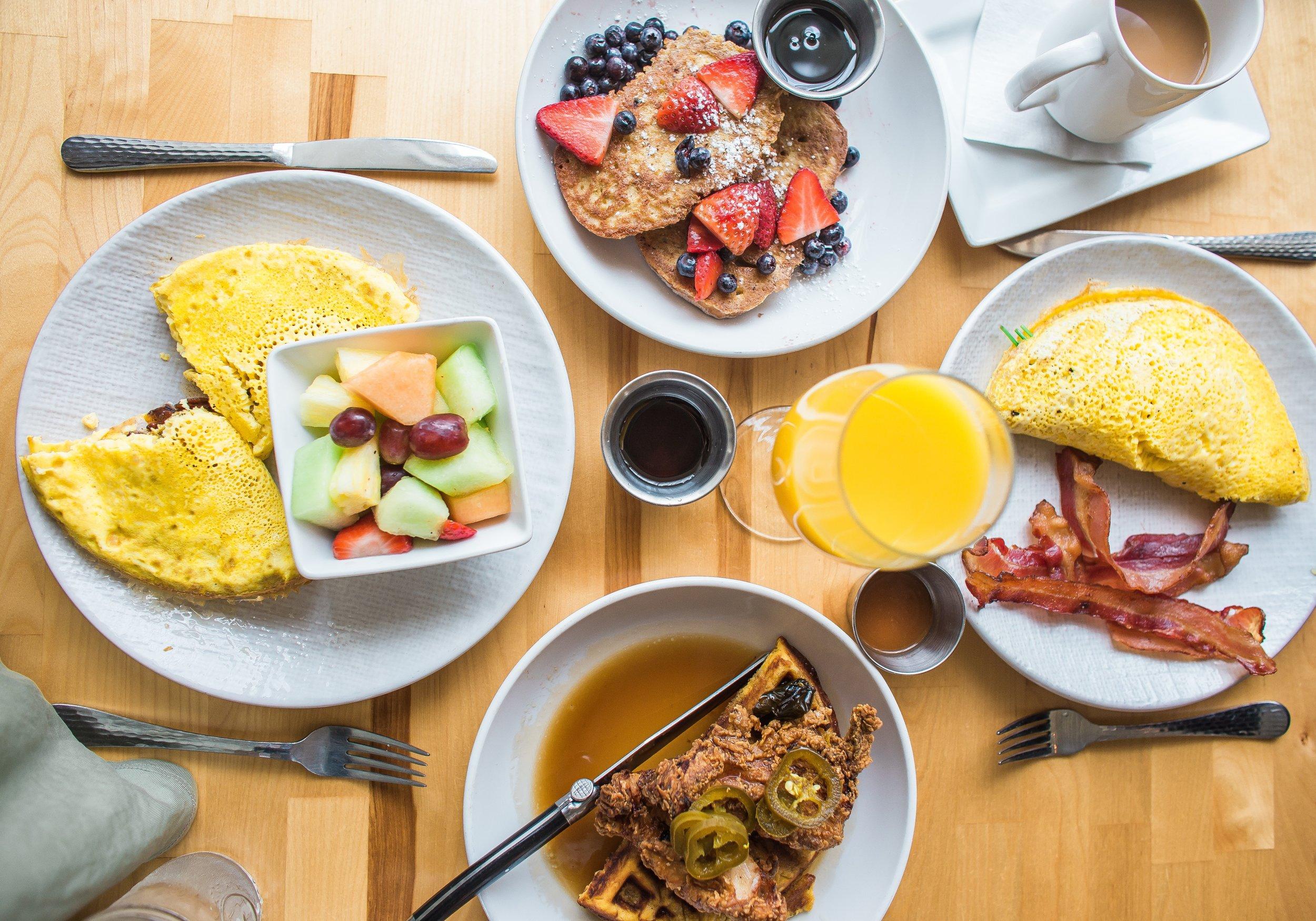 Breakfast in Montana