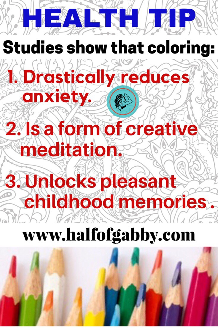 Coloring improves your health!