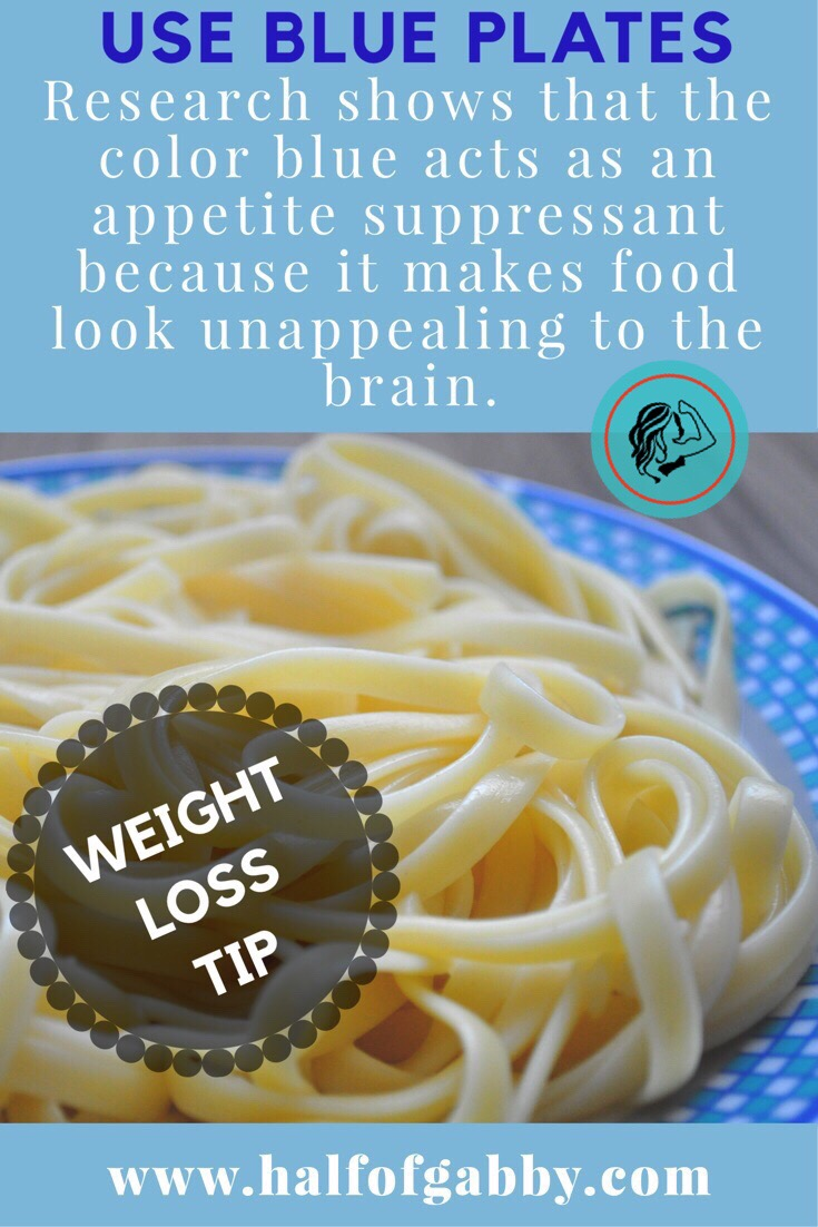 Weight loss tip.
