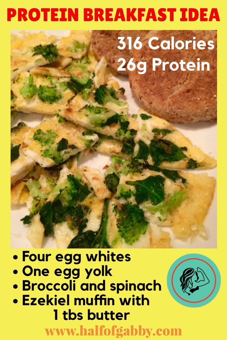 Protein: Spinach Eggs