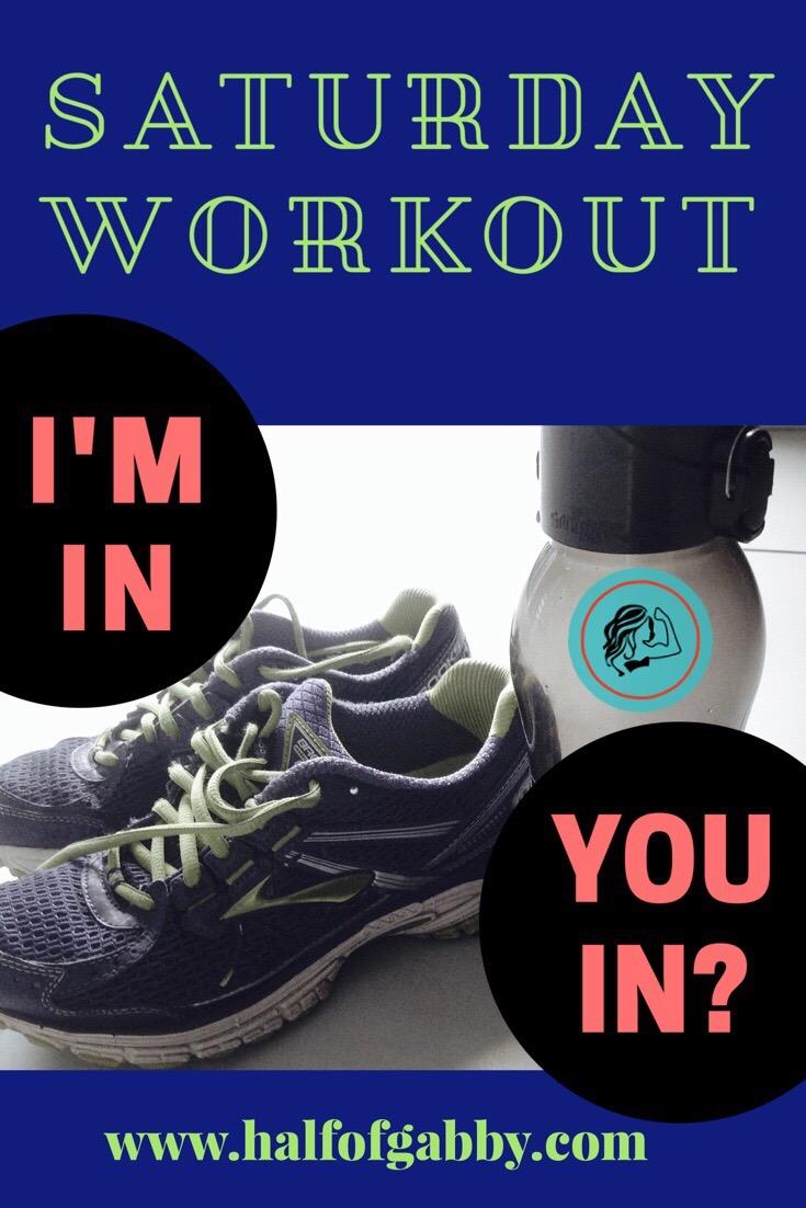 Saturday workouts.