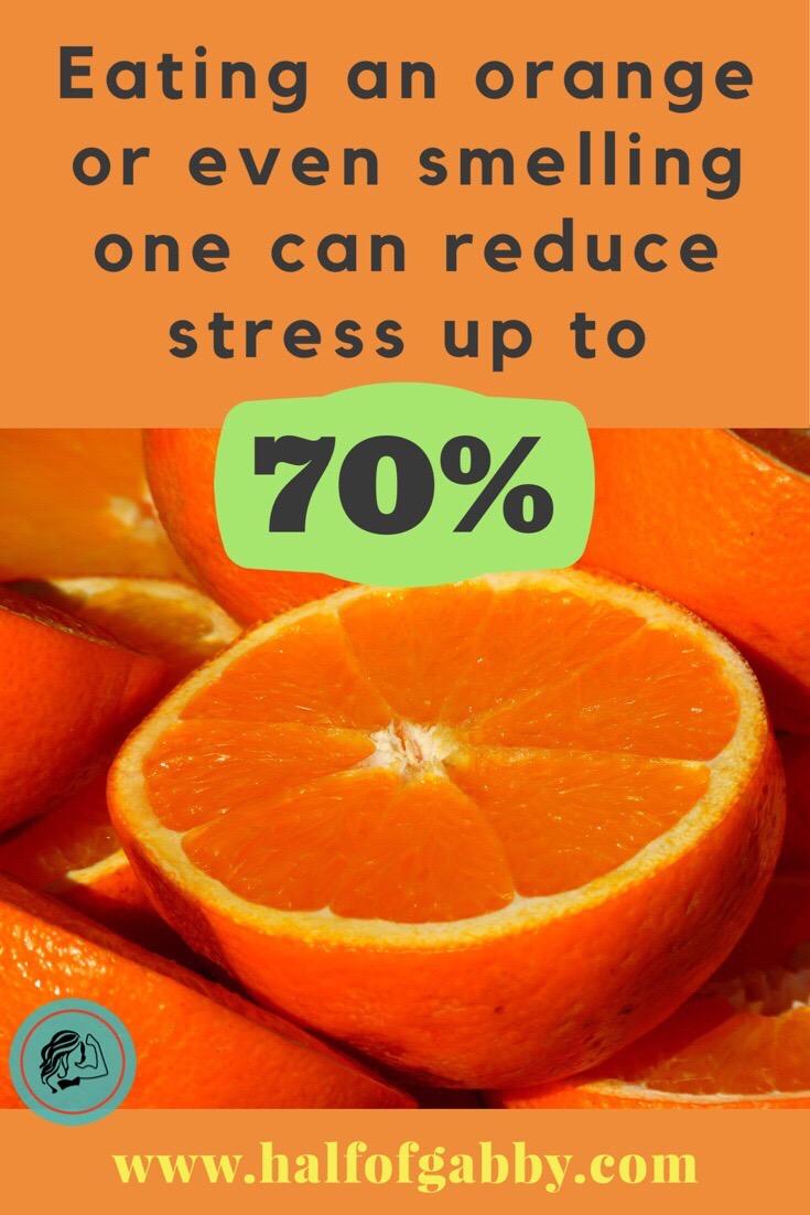 Go sniff some oranges!
