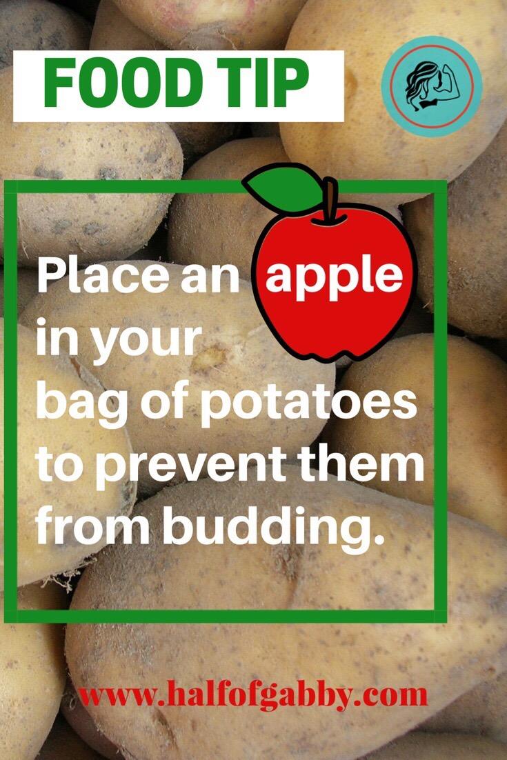 Potato saver tip.