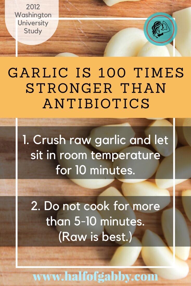 Garlic is powerful!