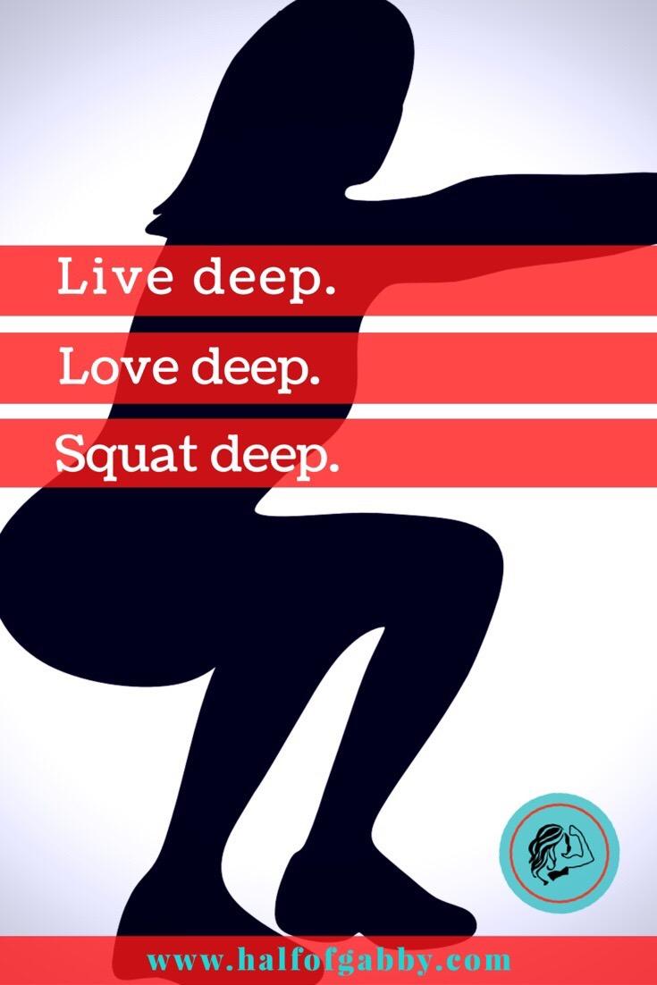Drop it like a squat.