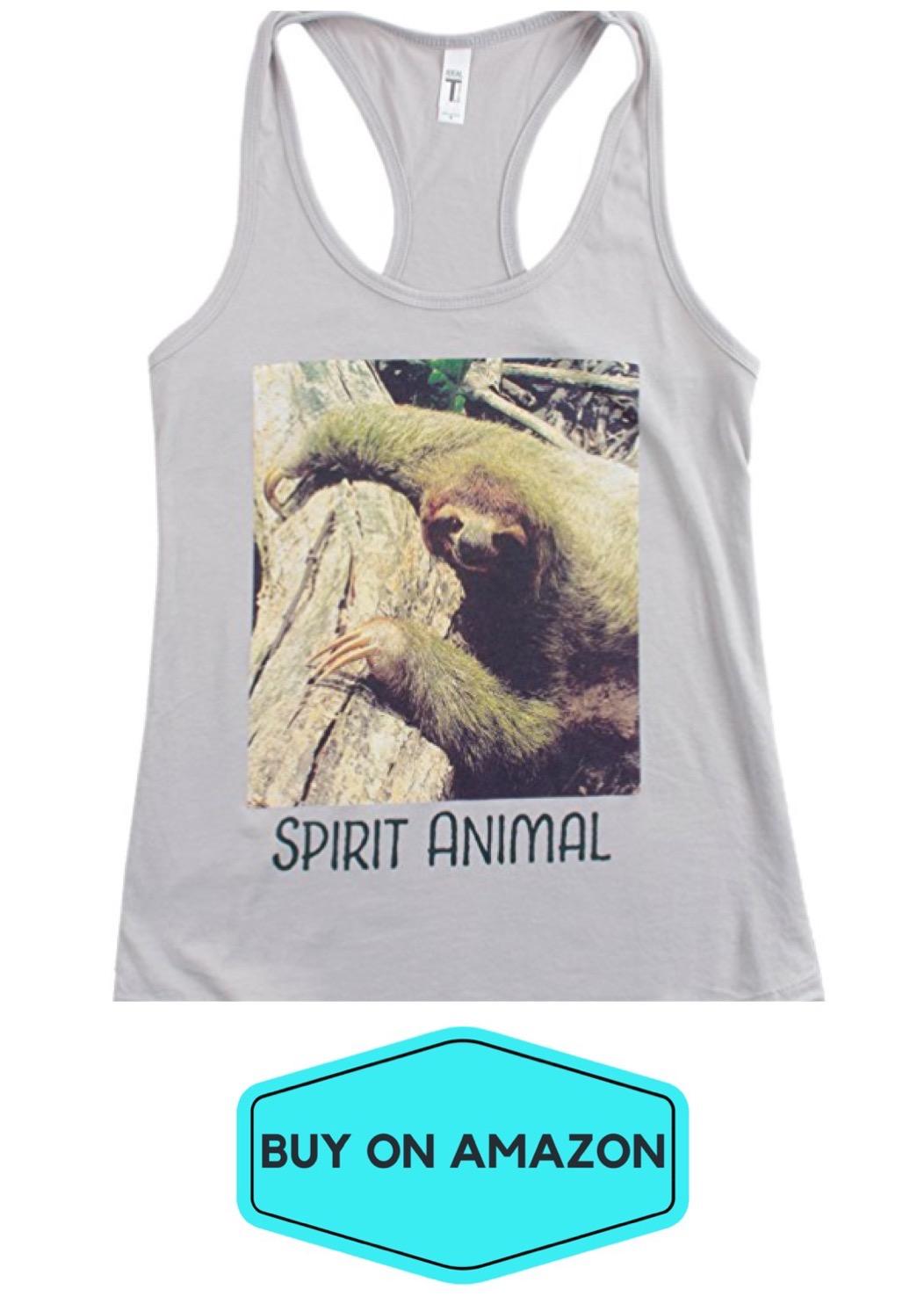 Sloth Is My Spirit Animal Tank