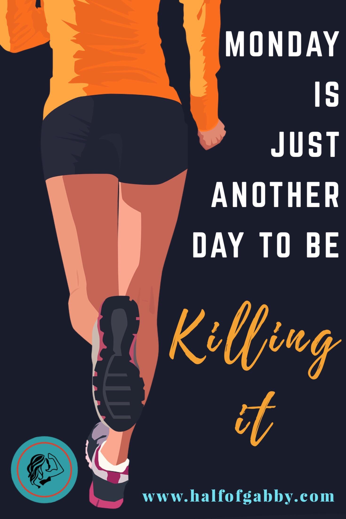 Keep killin' it.