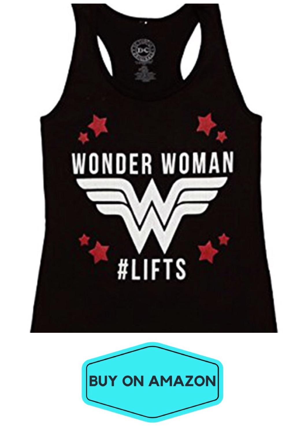 Wonder Woman Lifts Tank