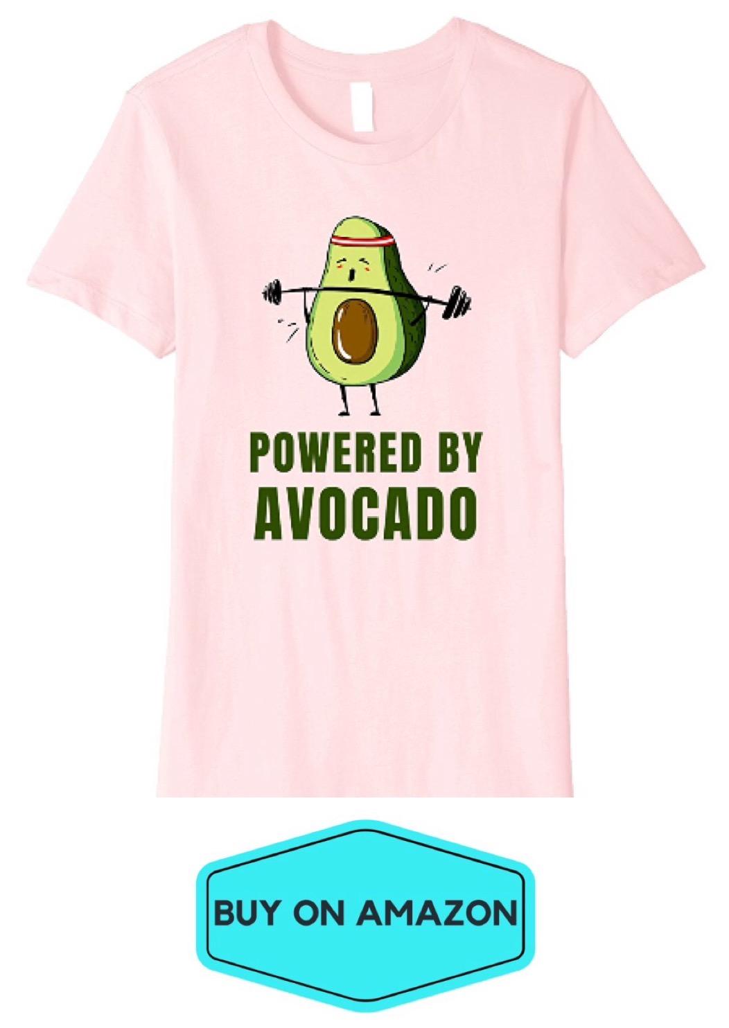 Powered By Avocado Tee
