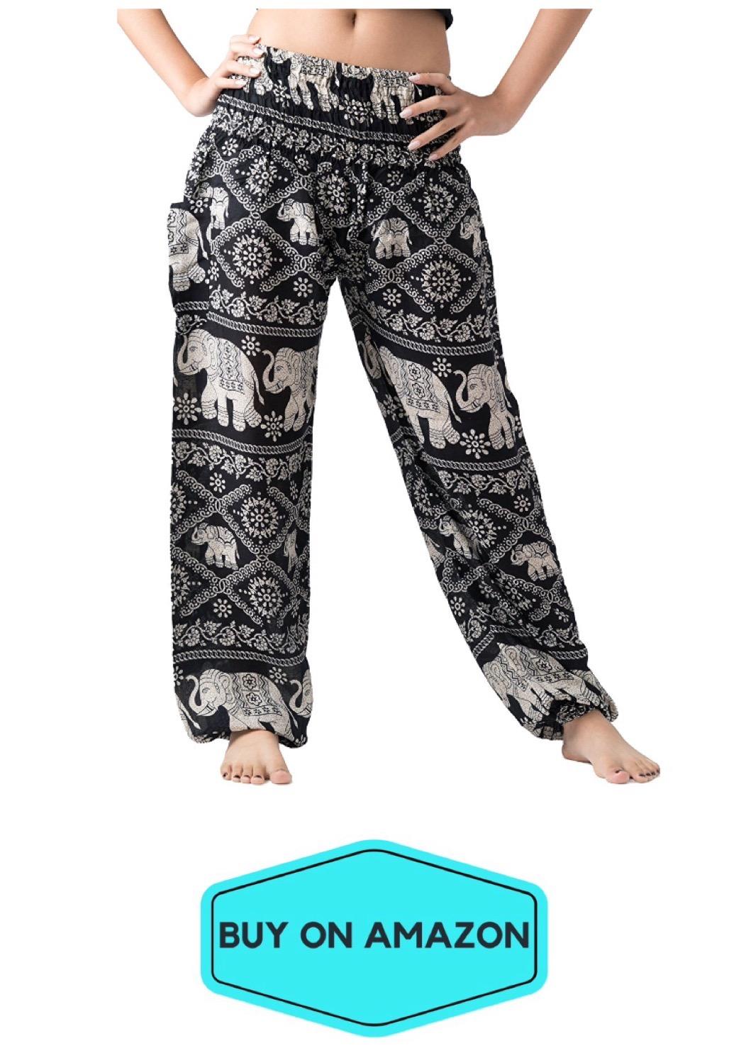 Elephant Yoga Pants