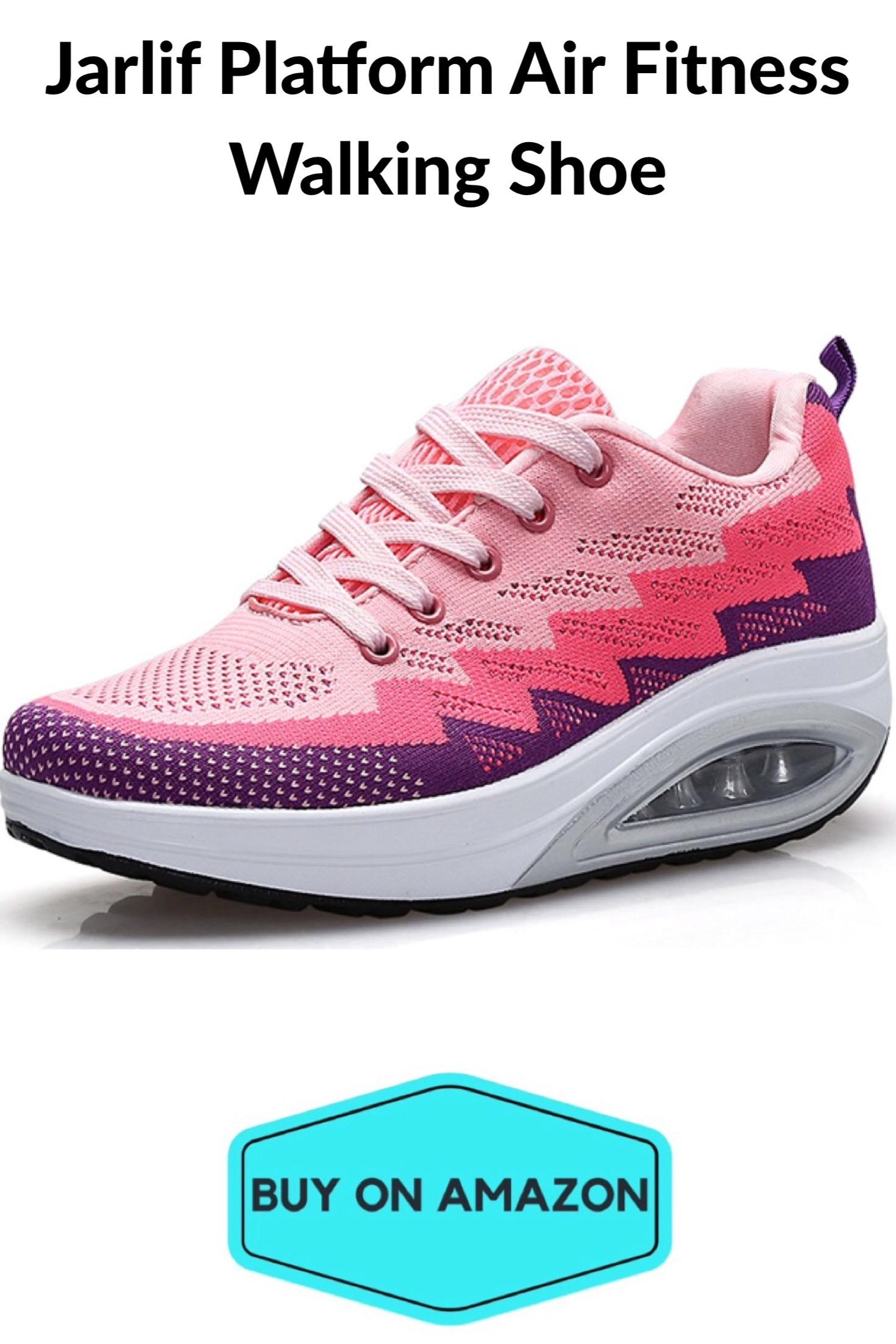 Jarlif Platform Air Fitness Women's Walking Shoe