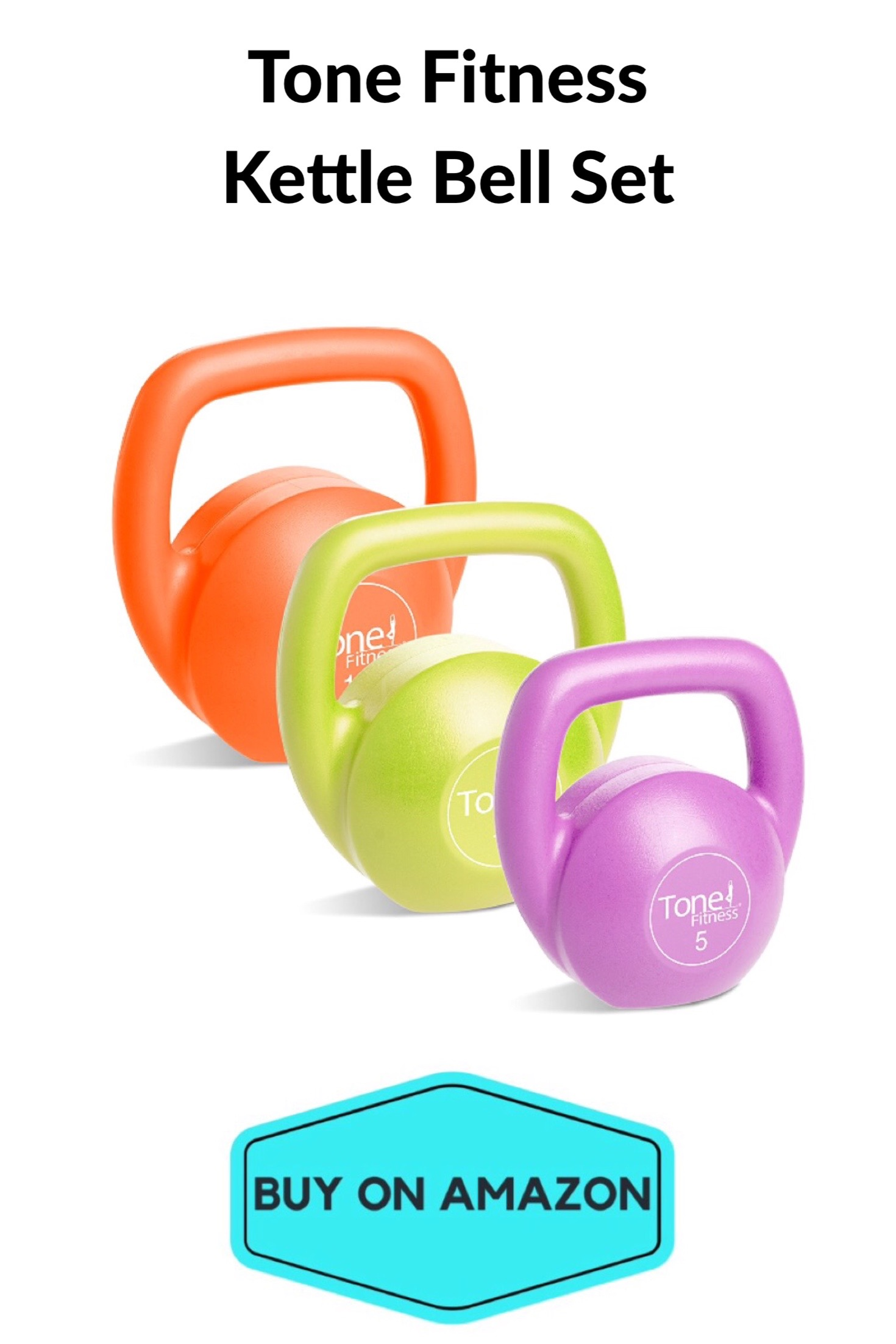 Tone Fitness Kettle Bell Set