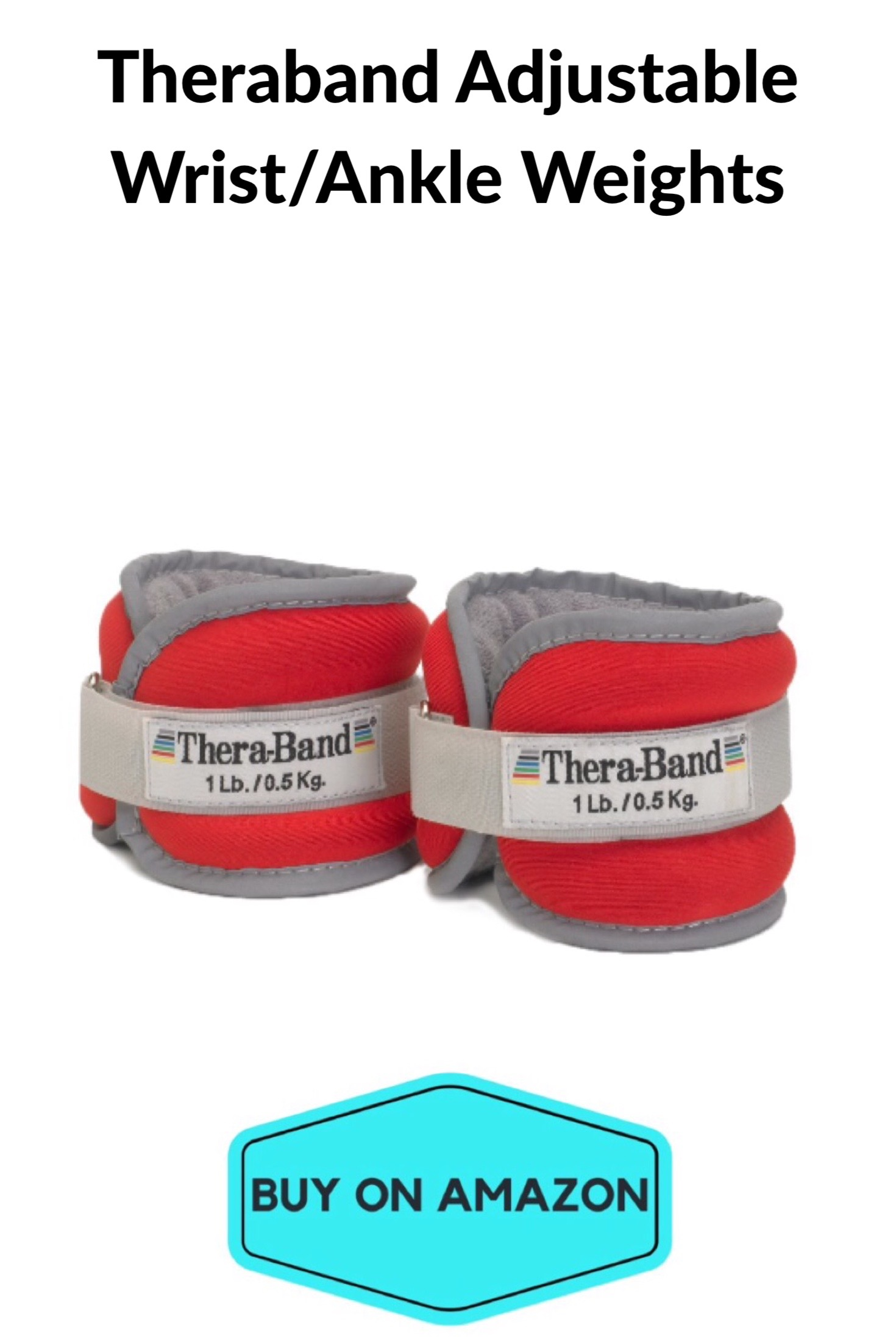 Theraband Adjustable Wrist/Ankle Weights